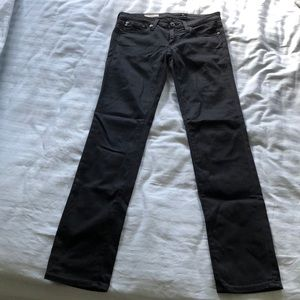 Ag jeans the slit cigarette leg 26
